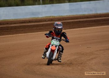 On Any Sunday Dirt Track Racing – 50cc Demo